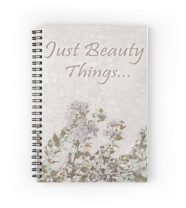 Shabby Chic Style Motivational Quote Design Notebook