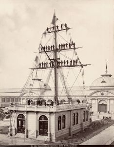 Österreichisch-Ungarischer Lloyd. Eröffnungsparade © Archiv Technisches Museum Wien KLÖSZ GYÖRGY, 1873