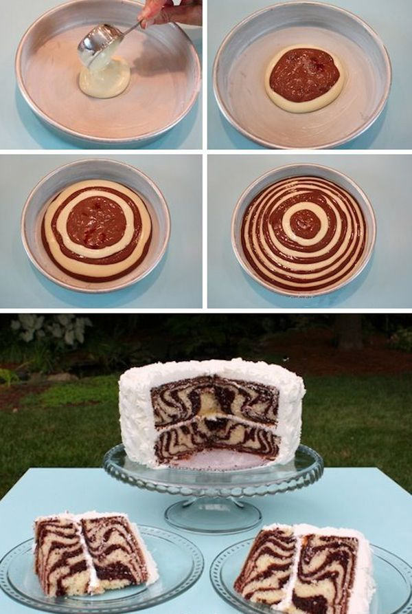 Торт Зебра, оформление торт зебра, украшение торт зебра