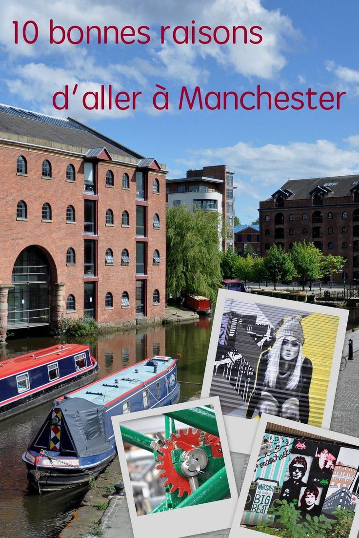 Manchester, c'est la nouvelle ville à la mode en Angleterre, avec son street-art, ses canaux, son héritage industriel et son histoire musicale.
