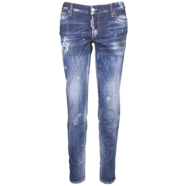 Jeans 1 440 Brl Liked On Polyvore Featuring Jeans Patching Blue Jeans Button Fly Jeans Blue Jeans 5 Pocket Jeans And Dsquared2 Jeans Mode Jeans