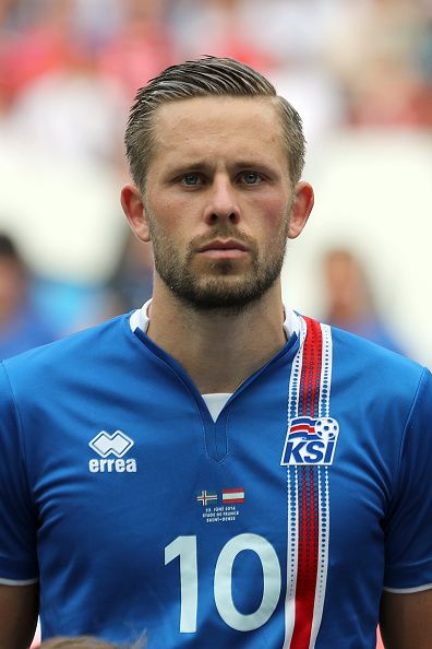 #EURO2016 Gylfi Sigurdsson of Iceland during the UEFA EURO 2016 Group F match between Iceland and Austria at Stade de France on June 22 2016 in Paris France