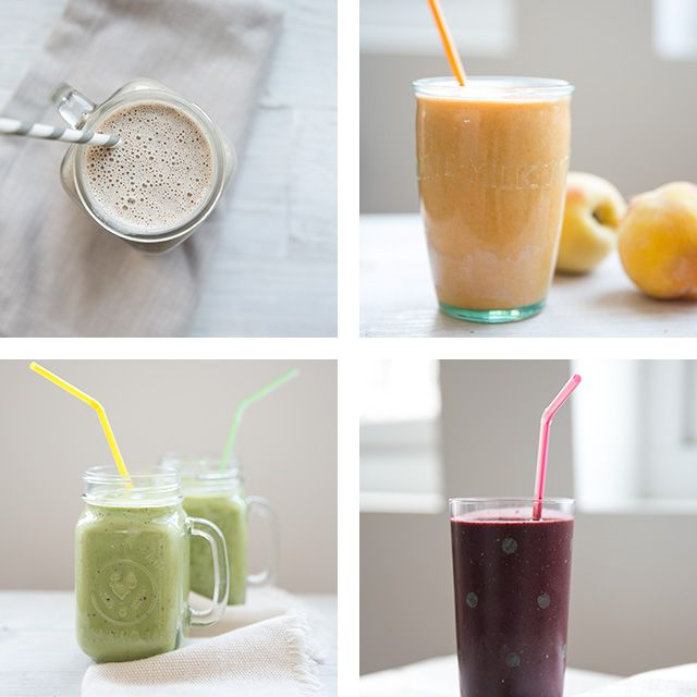4 delicious + healthy smoothie recipes for moms + kids - an incredible amount of info. here on what makes these smoothies so good for you.