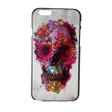 caso duro de la PC del cráneo del color para el iphone 6 – EUR € 3.91