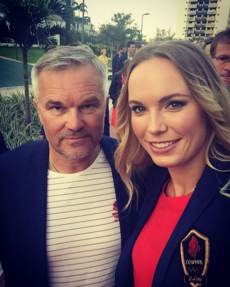 Rio Opening Ceremony...   Caroline Wozniacki | Denmark | Tennis Almost ready for the opening ceremony!! @danmarktilol #excited Twitter/CaroWozniacki