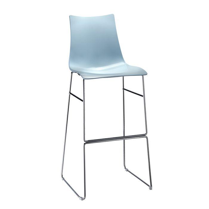 Zebra Technopolymer stool sledge frame - SCAB Design