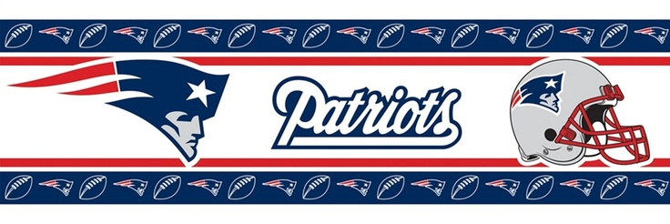 New England Patriots Wall Border New England patriots