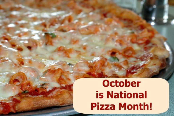 Blog with facts about pizza in honor of National Pizza month!