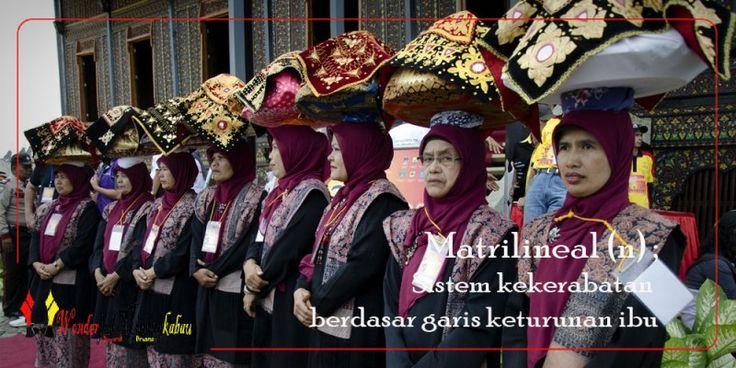 Kelebihan dan Kekurangan Sistem Kekerabatan di Minang (Matrilineal)