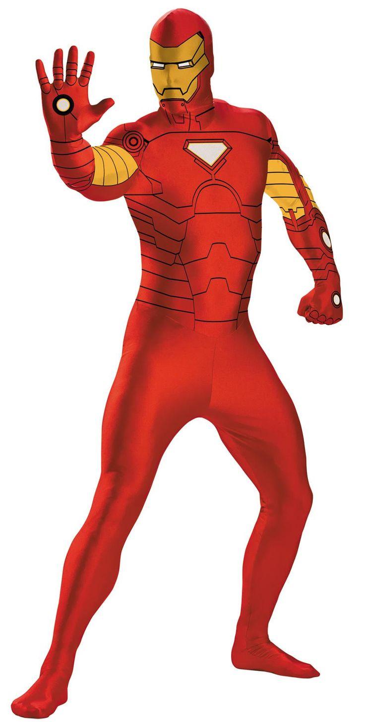 Iron Man Bodysuit Costume 14-1