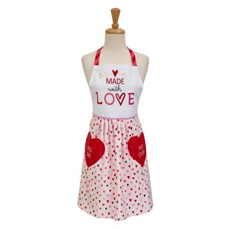 Dii Made With Love Print Skirt Apron 20x35x29 Inch 100 Cotton