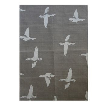 New Zealand Linen Tea Towel Natural with Duck Print by Crown & Feathers http://www.silverfernz.com/4182-linen-tea-towel-natural-with-duck-print-by-crown-&-feathers.htm
