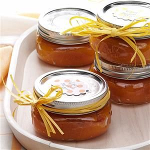Easy Apricot Jam Recipe -Here's the perfect topping for English muffins or toast. It's so simple to make my homemade jam, you'll want to share it with all your friends.—Geri Davis, Prescott, Arizona