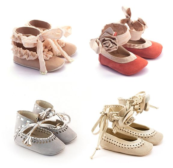 Cutest baby girl shoes I've ever seen. Now I want a little girl! VIBY on etsy