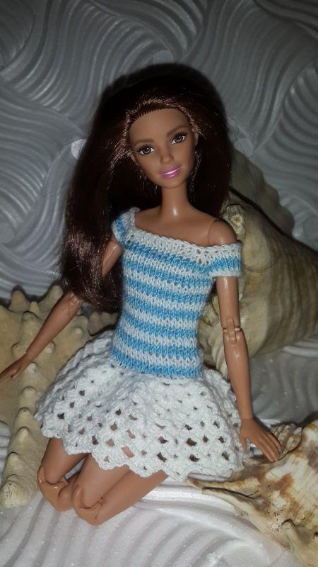 """Новая вязаная коллекция для Барби """"МОРСКОЙ БРИЗ""""!!! / Одежда для кукол / Шопик. Продать купить куклу / Бэйбики. Куклы фото. Одежда для кукол"""