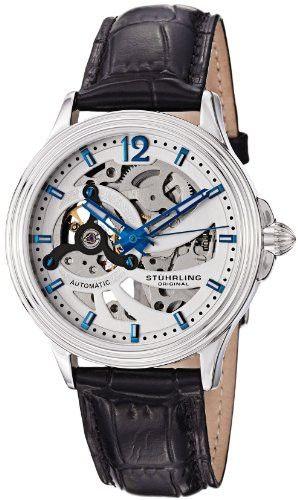 Reloj Stuhrling Original Delphi Automático Plata 170.33152  | Antes: $1,605,000.00, HOY: $450,000.00