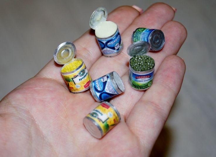 Консервы миниатюра / Canned miniature