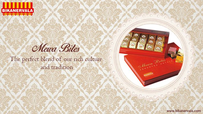 #‎MewaBites‬ -The perfect blend of rich culture and tradition... by ‪#‎Bikanervala‬