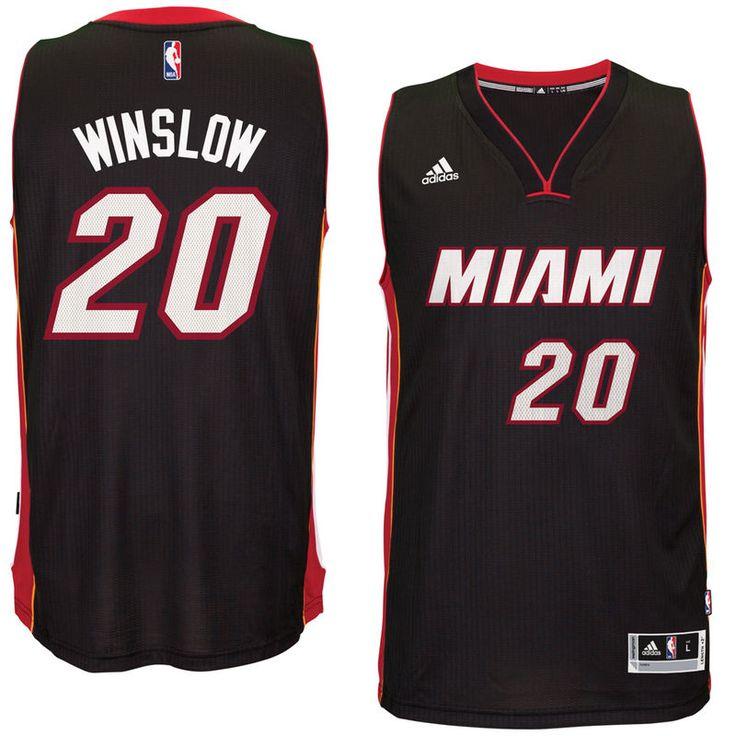 Justise Winslow Miami Heat adidas Swingman Jersey - Black