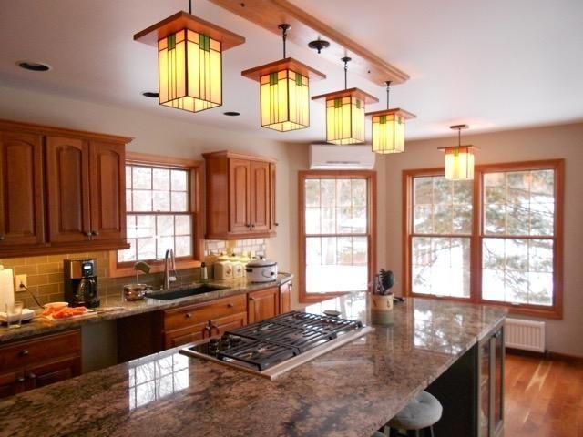 Craftsman Style Light Fixture 507 Craftsman Kitchen Kitchen