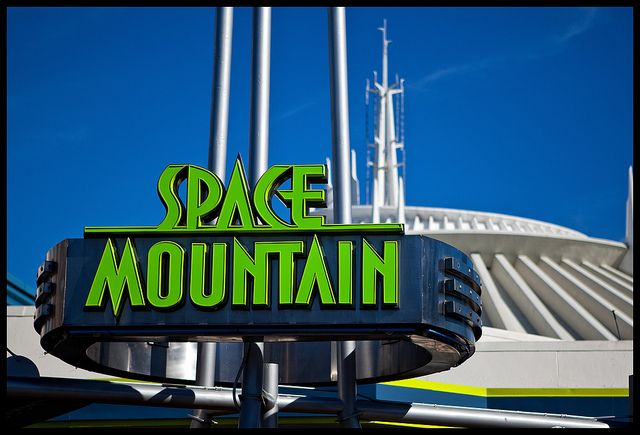 Walt Disney World - Magic Kingdom - Space Mountain
