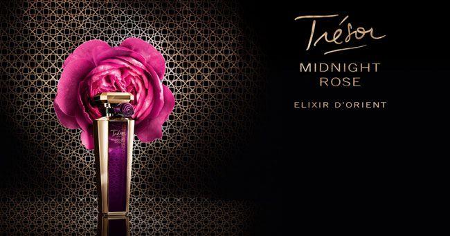Lancôme presenta il nuovo profumo Tresor Midnight Rose Elixir D'Orient