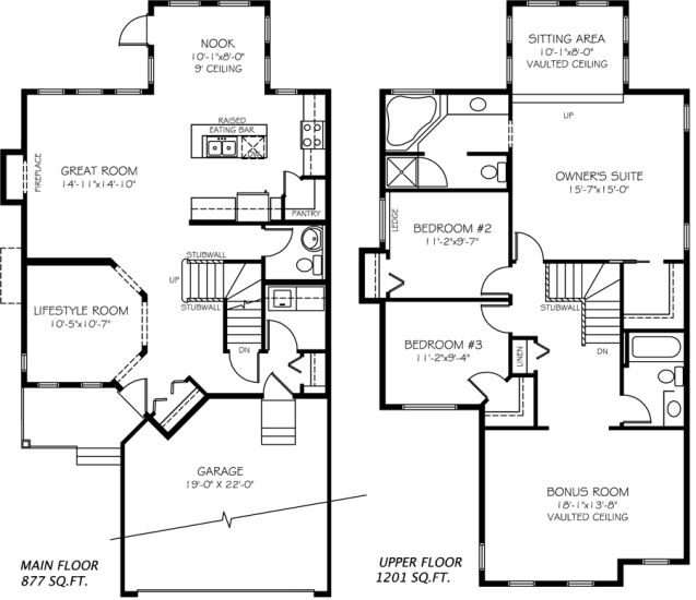 30 best great plans images on pinterest home ideas carriage cambridge model home by pacesetter homes edmonton malvernweather Image collections