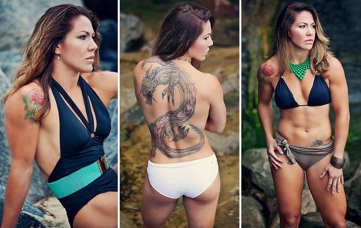Cris Cyborg - Female MMA fighter. Look at Cyborg lookin all femanine!