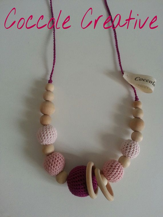 nursing necklaces di CoccoleCreative su Etsy