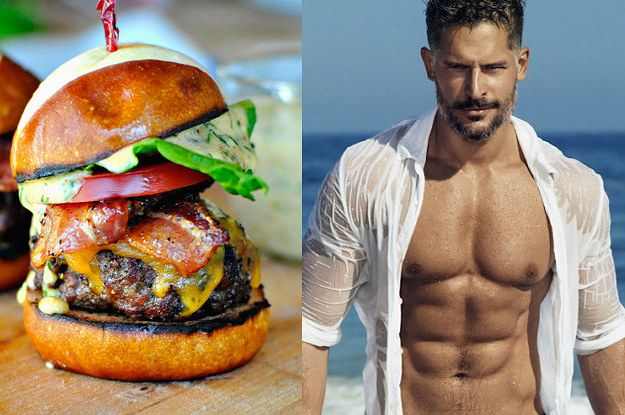 """The Toughest Game Of """"Would You Rather"""": Hot Guys Vs. Food  I picked mostly guys but here and there I could not help but choose food"""