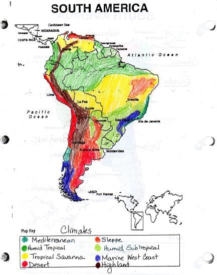 geography and climate of america Geography there are broadly five areas in colombia that can be distinguished to climate and landscape the andes mountains in the west here lives the majority of the population mainly in the cities of millions like bogota, medellin and cali (red.