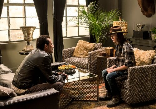 Negan & Carl (Season 7/ Ep.7)