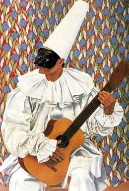 Gino Severini - Pierrot the Musician, 1924