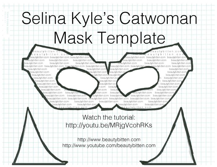 Halloween DIY Selina Kyle/Catwoman Costume (The Dark Knight Rises) - Mask  sc 1 st  Pinterest & 69 best Halloween outfits images on Pinterest | Costume ideas Cute ...