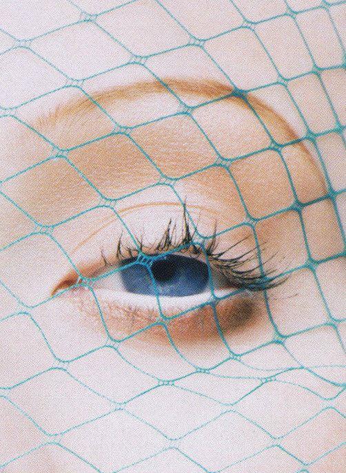 Numéro #58, November 2004. A cropped photograph of Karen Elson by Solve Sundsbo.