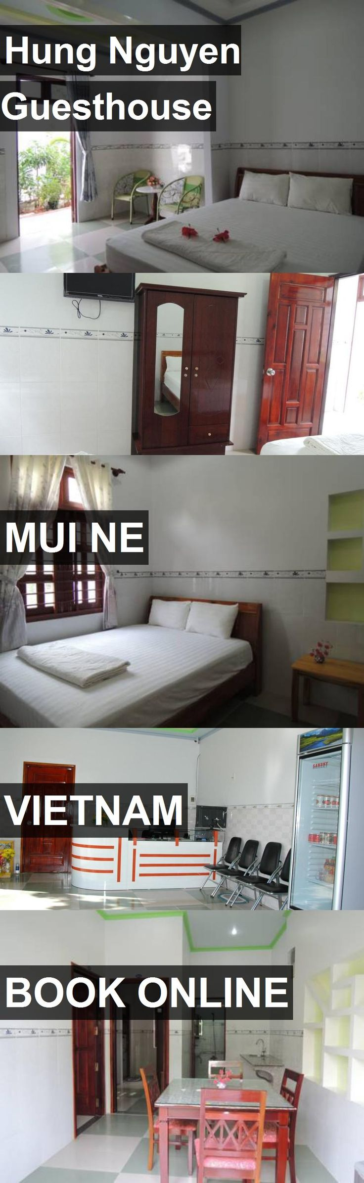 Hotel Hung Nguyen Guesthouse in Mui Ne, Vietnam. For more information, photos, reviews and best prices please follow the link. #Vietnam #MuiNe #travel #vacation #hotel