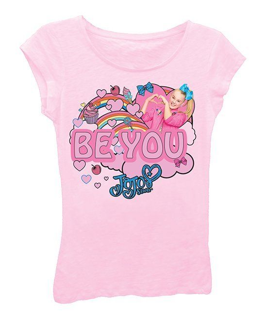 3700b4aeb510d Take a look at this JoJo Siwa Pink  Be You  Tee - Girls today ...