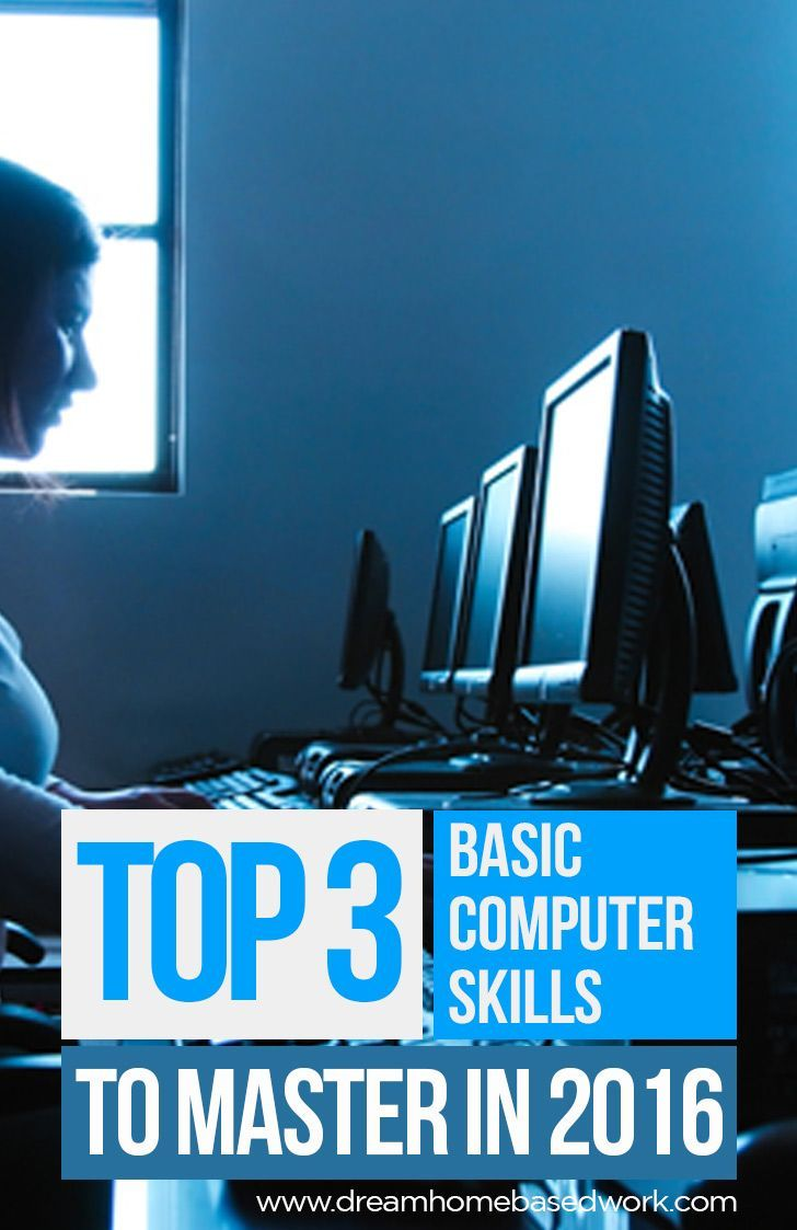 Discover the top 3 basic computer skills to master for any individual that makes use of a PC whether at work or for personal purposes.