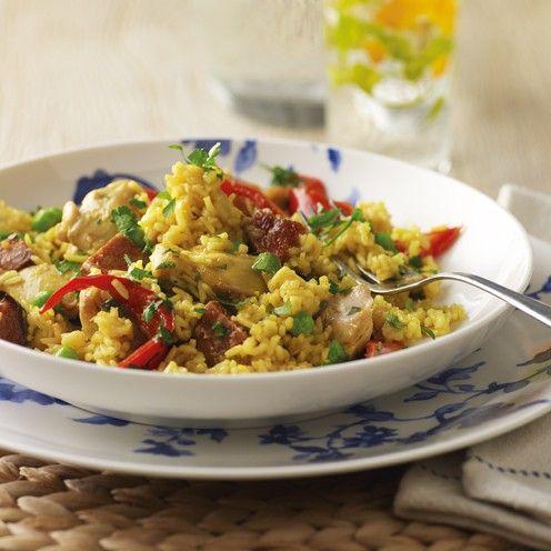 Slow cooker Spanish chicken - Good Housekeeping