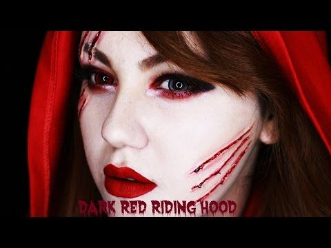 Cadılar Bayramı Makyajı | Halloween Little Red Riding Hood Makeup Tutorial - YouTube
