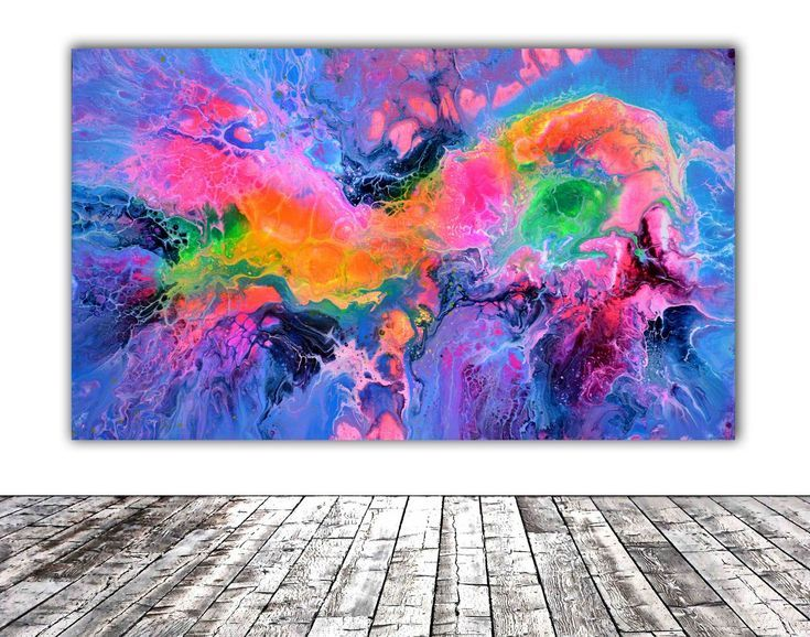 Buy Fusion 52 - Abstract Fluid Painting - Ready to Hang, Perfect Gift - Wall Decoration, Acrylic painting by Soos Tiberiu on Artfinder. Discover thousands of other original paintings, prints, sculptures and photography from independent artists.