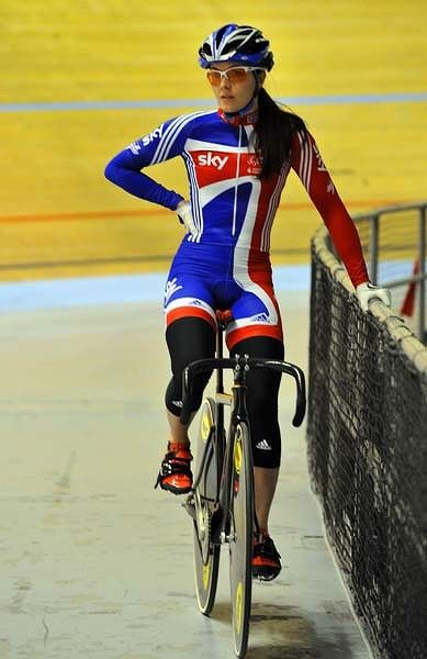 Probably my favourite athlete - ever Victoria Pendleton