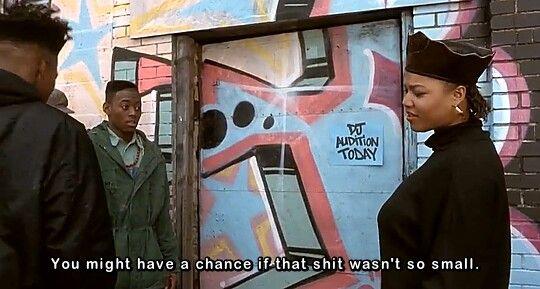Juice(1992) Flex Alexander & Queen Latifah