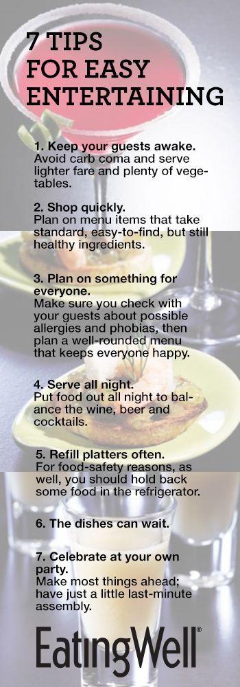 7 Tips for Easy Entertaining #theinspiredtable #foodforinspiration #sharethehealth