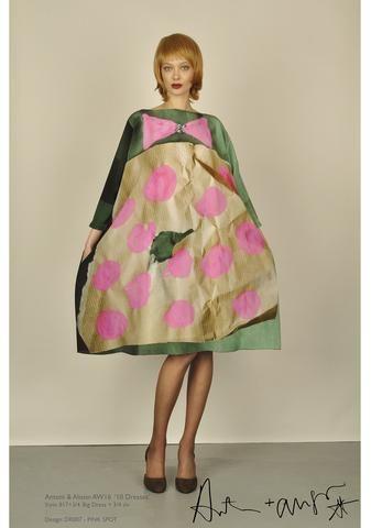 Antoni & Alison - Pink Spot Dress