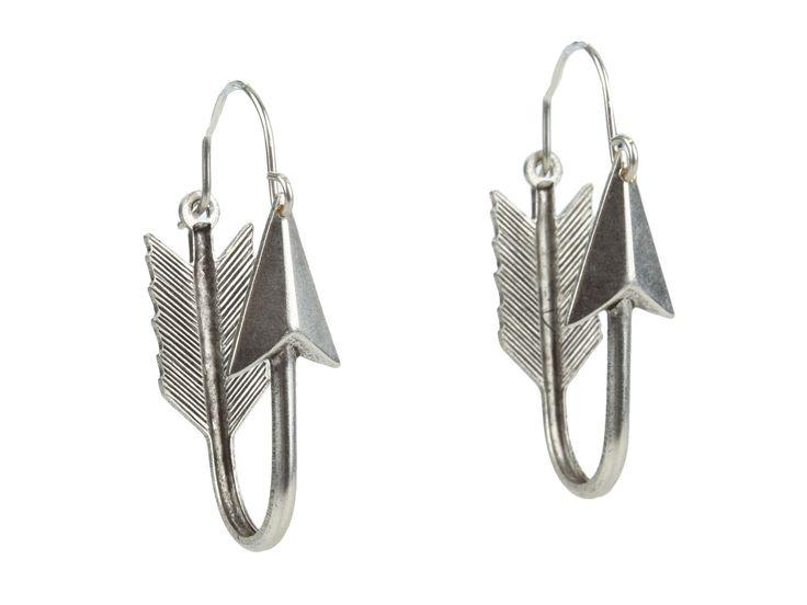 Silver Hoop Arrows