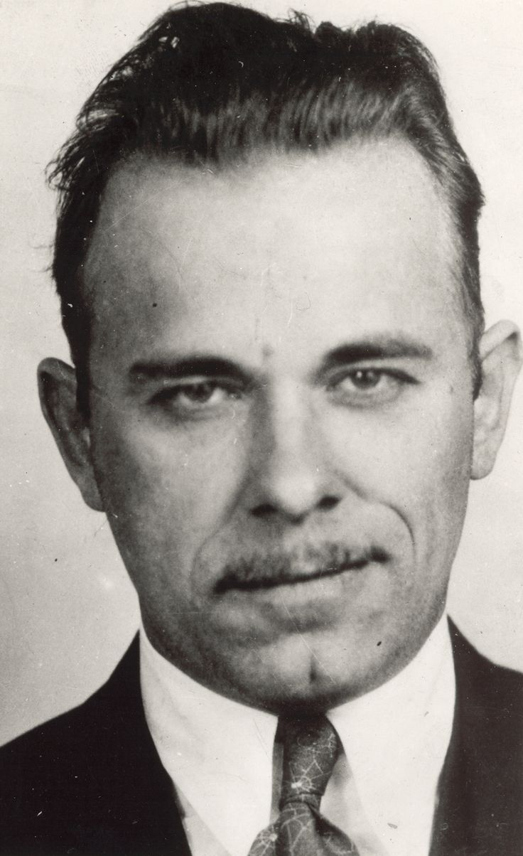 The vintage mugshots of shoplifters bank robbers and murderers from - John Herbert Dillinger Was An American Bank Robber In The Early He Was Born On Ju