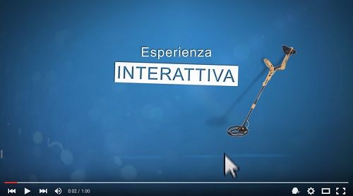 Metal Detector Gioco con Video Intereattivo