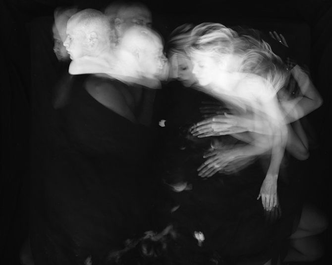 Long Exposures Of Couples Sleeping Tell An Interesting Story