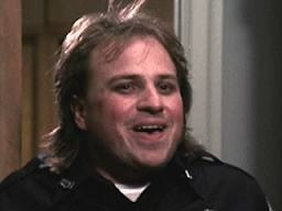Bobcat Goldthwait. He was hilarious in Police Academy!